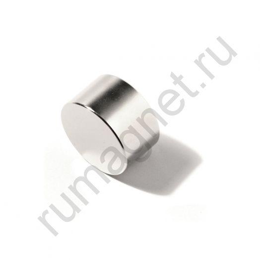 Неодимовый магнит диск 25x25 мм