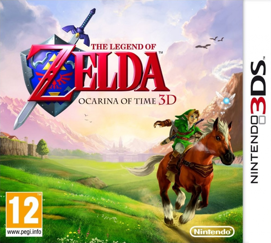 Игра The Legend of Zelda Ocarina of Time 3D (Nintendo 3DS)