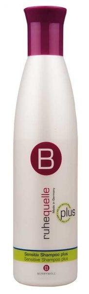 Herkälle päänahalle ja hiuksille tarkoitettu shampoo Sensitive Shampoo plus