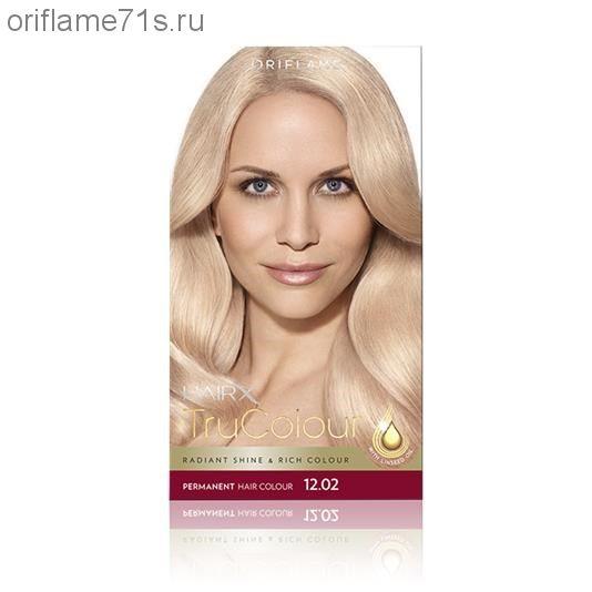 Стойкая краска для волос «Цвет-Эксперт» - 12.02 Ультрасветлый... все оттенки см. каталог!