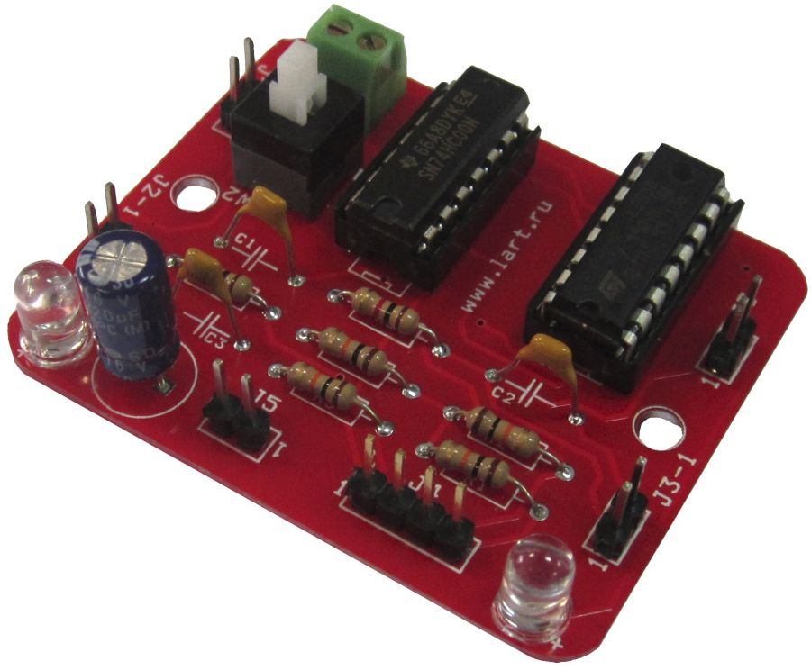 Драйвер электромотора на l293d