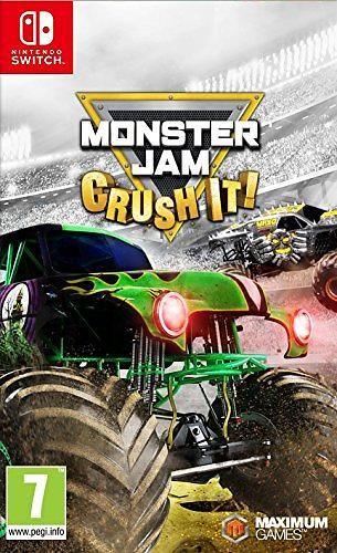 Игра Monster Jam Crush It! (Nintendo Switch)