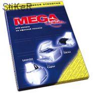 73628 Этикетки самоклеящиеся MEGA LABEL А4 70г белая (Jetlaser) (100 листов/пач.)