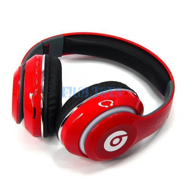 Беспроводные наушники Beats Studio STN-13 красные