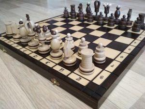 """Шахматы """"Королевские, с медной нитью"""""""