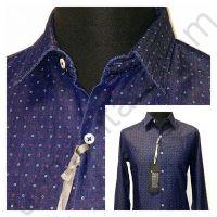 Мужская серо-голубая рубашка Nous