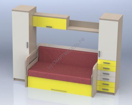 LEKTUM - стол-кровать трансформер