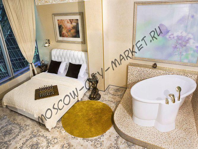 Апартаменты на час Полулюкс (видовой с ванной)