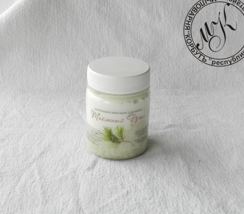Натуральное крем-мыло Таежный угол  ( для бритья)