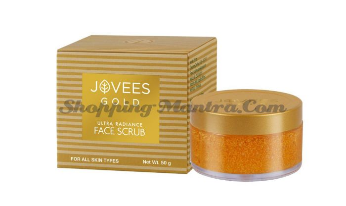 Скраб для лица c 24 карата золотом Джовис | Jovees 24k Gold Ultra Radiance Face Scrub
