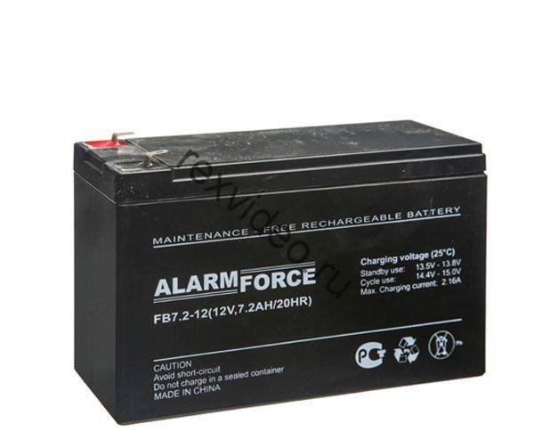 Аккумуляторная батарея 12В, 7,2 А*ч