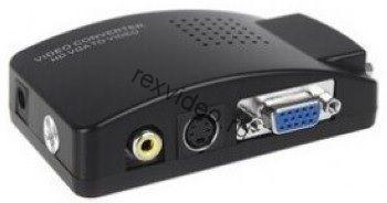 Преобразователь сигнала VGA в AV