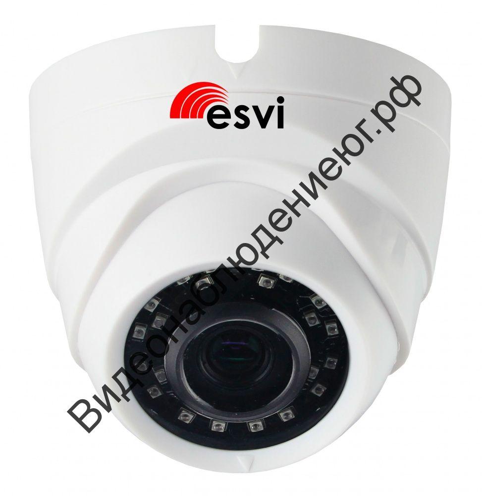 Купольная IP видеокамера EVC-DL-S10