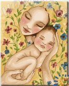 """Картина по номерам """"Счастье матери"""""""