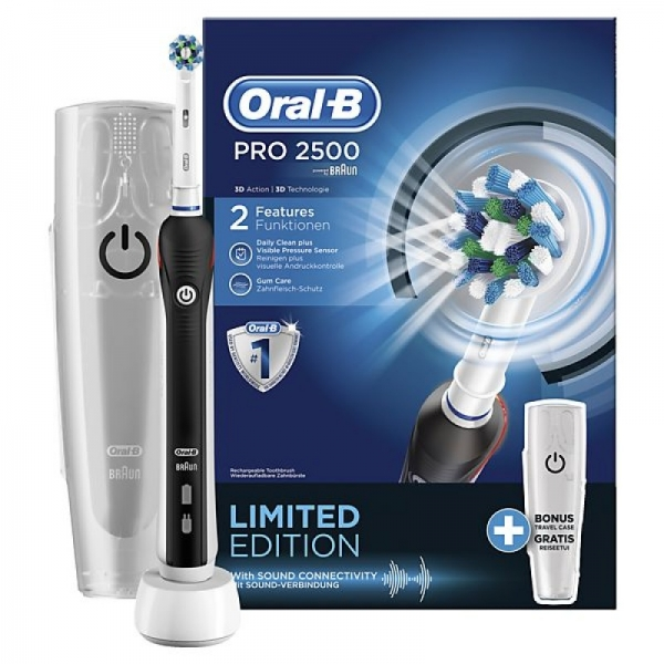 Oral-B Pro 2500 Cross Action Black D20.513.2MX