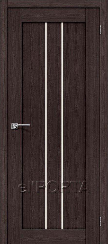 Межкомнатная дверь ПОРТА Х-24 Wenge Veralinga