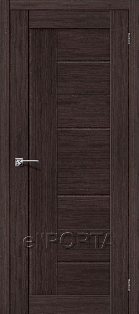 Межкомнатная дверь ПОРТА Х-26 Wenge Veralinga