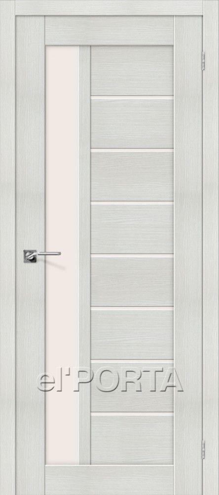 Межкомнатная дверь ПОРТА Х-27 Bianco Veralinga