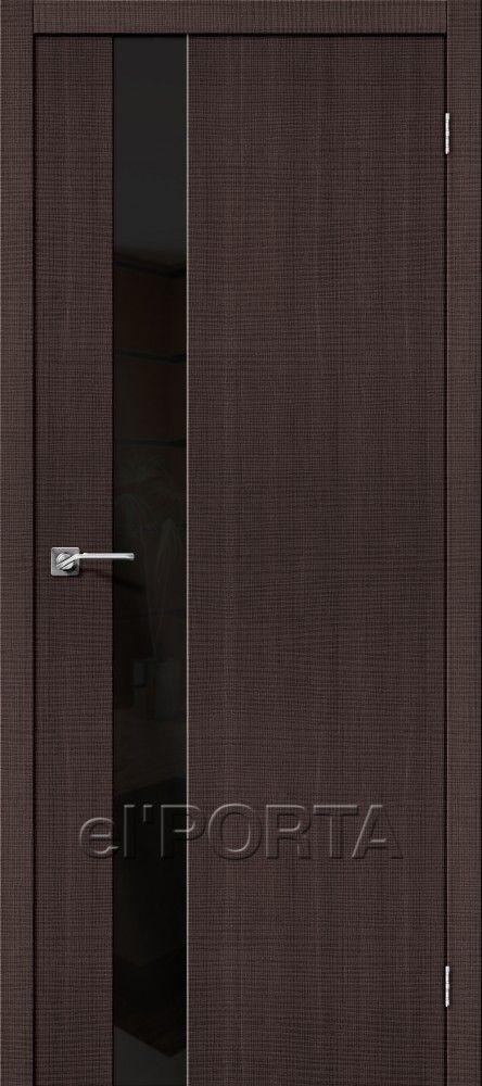 Межкомнатная дверь ПОРТА-51 WENGE CROSSCUT