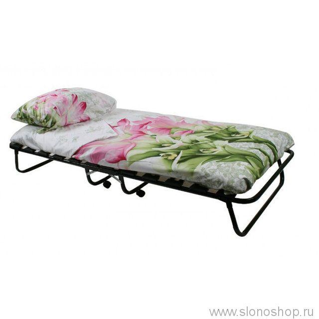 Раскладушка кровать раскладная Leset 204 (1900 х 800 х 340 мм 120кг )+подарок