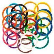 Набор «Супер» из 30 цветов пластика ABS/PLA  по 10 метров