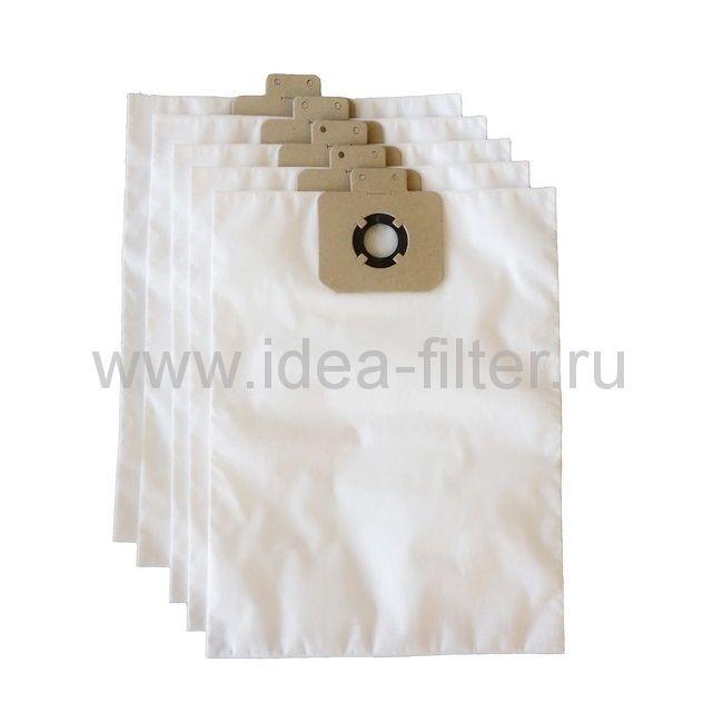 IDEA K-06 - мешки синтетические для пылесоса KARCHER T 7/1, T 9/1 - 5 штук
