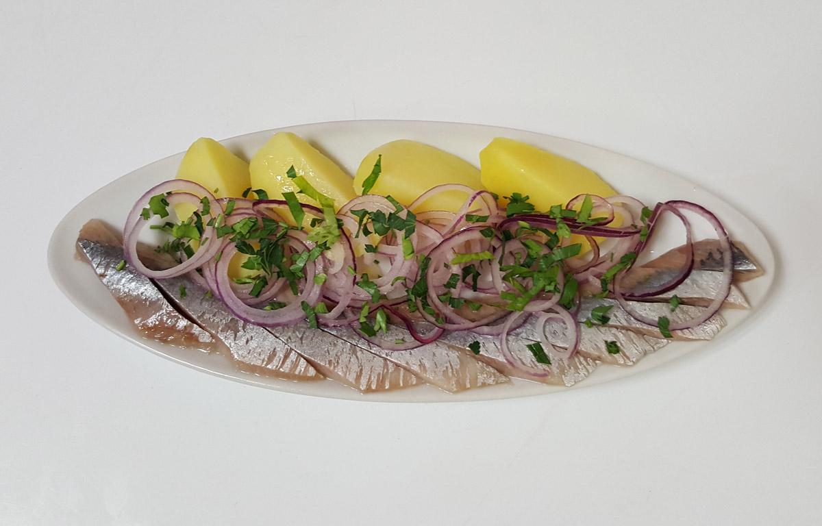 Селёдочка с картошкой