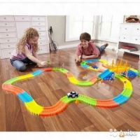 Magic Tracks 360 деталей с мостом.