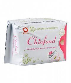 Дневные прокладки CHINFOND с турмалином