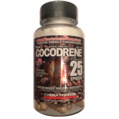 Жиросжигатель Cocodrene 25 90к (Cloma Pharma)