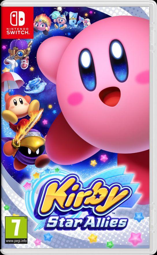 Игра Kirby Star Allies (Nintendo Switch)