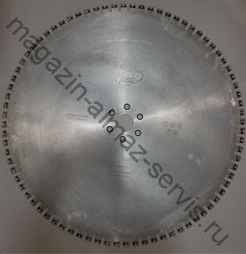 Алмазный диск T LASER TURBO ⌀ 600 мм. для стенорезных машин HILTI 20-32 кВт