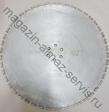 Алмазный диск LASER STANDART ⌀ 1600 мм. для стенорезных машин HILTI 20-32 кВт