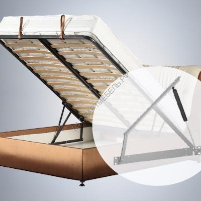 Механизм подъема кровати (36°) с газлифтами 1000N