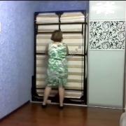 Механизм трансформации двуспальной кровати | СМАРТМЕБЕЛЬ.РФ