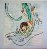 "Cross stitch pattern ""Spirited away - 3""."