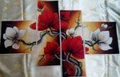 "Cross stitch pattern ""Magnolia""."