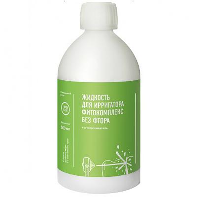 Жидкость для ирригатора WaterDent Фитокомплекс без фтора