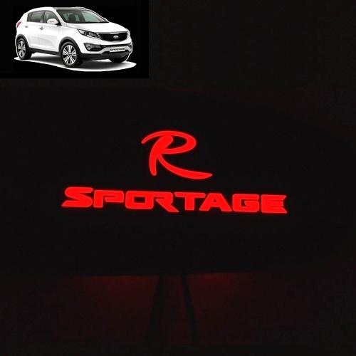 Вставки с LED-подсветкой в ручки дверей Sportage3, Китай