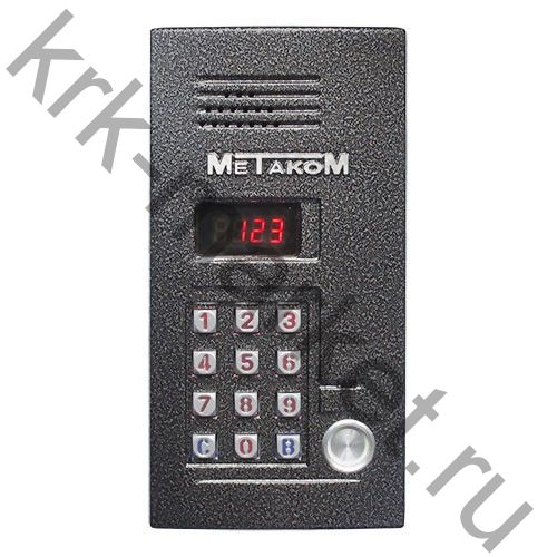Многоабонентский антивандальный  блок вызова МК2012-ТМ4Е
