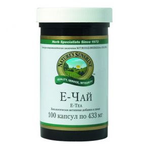 Е-чай (E-tea) 100 капс