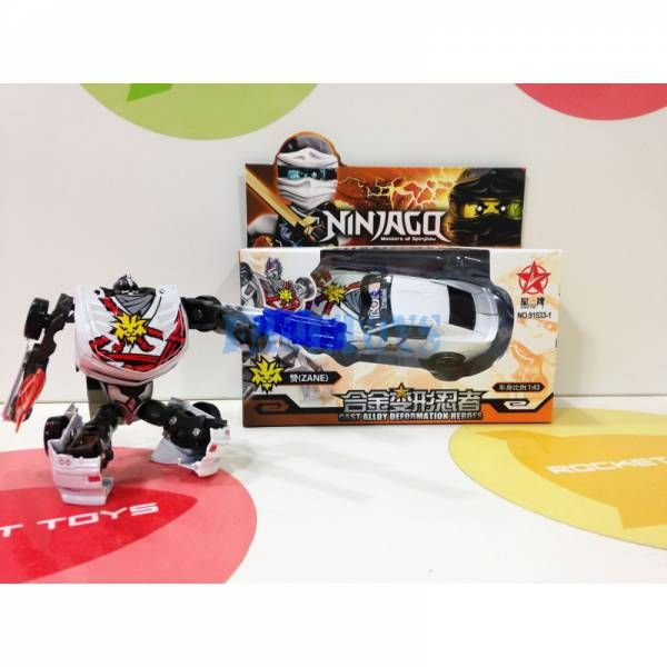 Машинка-трансформер Ninjago метал.