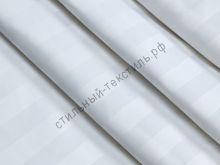 Сатин-страйп полоса 3 см (белый) KL-3