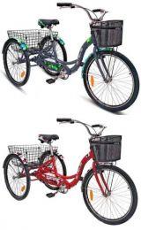 Грузовой 3 х колесный велосипед для взрослых Stels Energy I