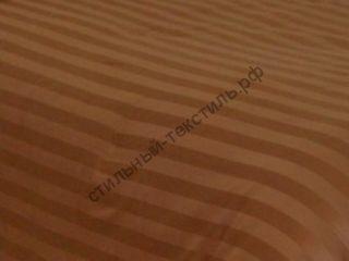 Сатин-страйп полоса 2 см (корица)