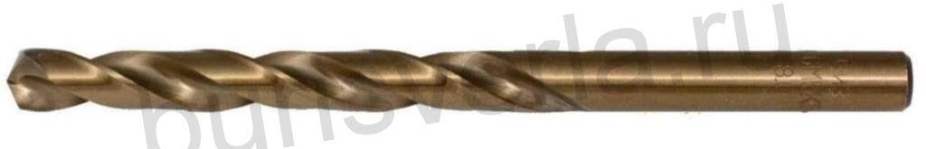 Сверло по металлу 4,5 мм, Р6М5К5