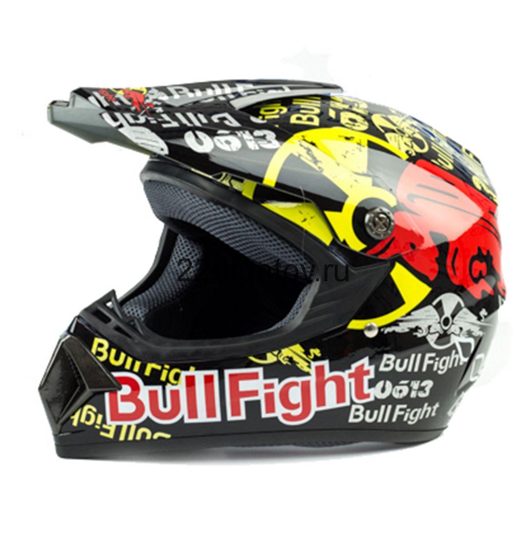 Шлем кроссовый Tiane BullFight