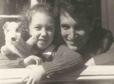 Дочь Маша и сын Юра (1954 г.)