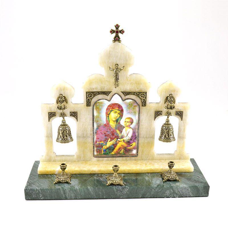 """Пасхальная подарочная композиция """"Богородица с Иисусом"""""""