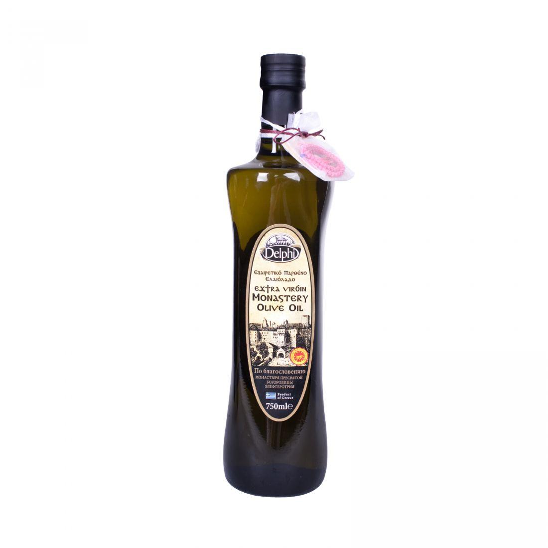 Оливковое масло монастырское DELPHI  - 750 мл экстра вирджин